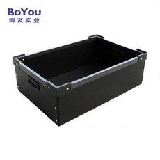 防静电周转箱黑色塑料箱周转物流箱塑料加厚周转箱可定做特价批发