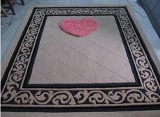 中式现代床上精品床垫客厅茶几地毯