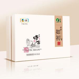 中粮山萃蜂蜜-甜蜜如初纯正蜜礼盒B款_礼品卡【艾月坊】