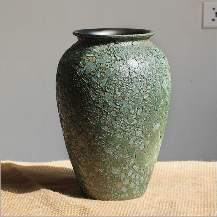 供应景德镇陶瓷花瓶三件套 插花花器 高温瓷器 家居装饰摆件 批发