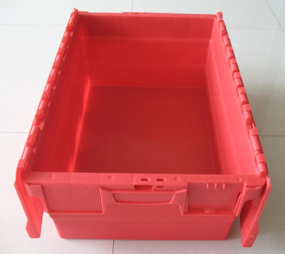 上海渠晟可定制斜插式带盖物流箱厂家