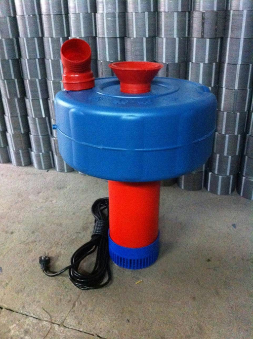 厂家直销浮水泵鱼塘喷水式增氧机养鱼泵二相电增氧泵