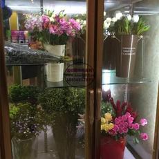对开中空玻璃门鲜花柜 鲜花蛋糕店冷藏柜立式 大同roseonly花店保鲜柜