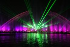 激光水幕电影广告|激光水幕广告|激光喷泉