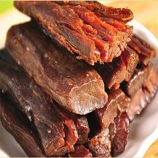 1号牧场风干牛肉干原味 200g 内蒙古正宗手撕 零食特产清真小吃