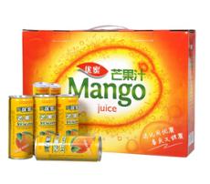 【食品饮料】240ml易拉罐芒果汁 食品饮料批发代理