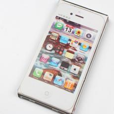 清明节祭祀用品纸手机纸苹果手机祭祀殡葬佛教折叠纸苹果半成品