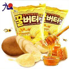 蜂蜜黄油薯片 一箱60gx20包 量大优惠