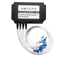 灿辉通信厂家供应多通道全光通信光路切换器CH-OSW-1X32机械式光开关模块