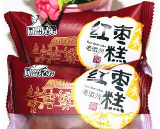 休闲零食 同盟兄弟 红枣糕 四种口味 多重分享 申滋味 整箱批发