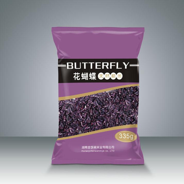 金饭碗 新米紫米 五谷杂粮 335g 富含花青素