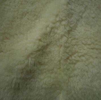 供应 优质真羊毛成份颗粒绒人造毛皮