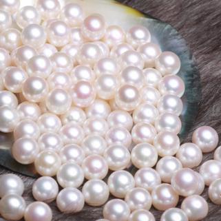 供应 正圆 无暇 特强光 5-11mm珍珠