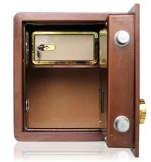 优玛保险柜家用 全钢办公保管箱 3C入墙加厚床头保险箱迷你柜特价