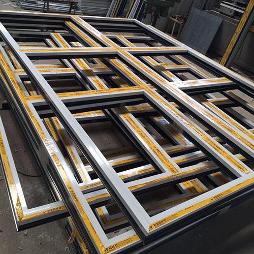 供应专业定制断桥铝门窗 断桥平开窗 实木门窗 铝木复合窗 TY-9