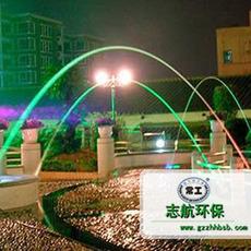 波光喷泉设计