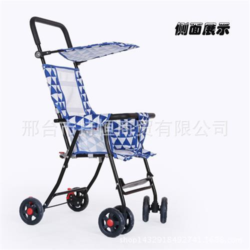 新款纱网透气四合一儿童推车多功能四轮婴童手推车