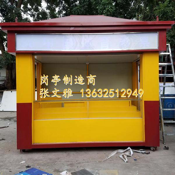 不锈钢售票亭真正的生产厂家  岗亭大量从深圳同路行设施有限公司供应直销