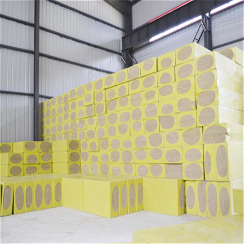 豪亚  现货批发防火吸音岩棉板 耐高温阻燃岩棉板 优质隔热岩棉保温板