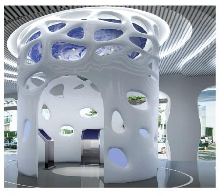 grg异形造型/天花吊顶grg/墙面造型grg/艺术空间grg材料