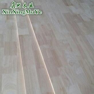 供应 橡胶木木质板材18mm实木插接板集成材1