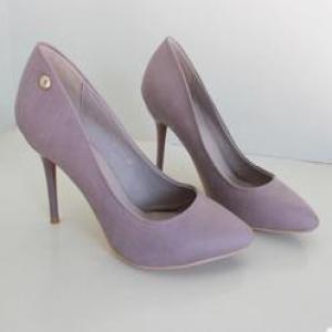 优质牛漆皮单鞋 简约大气舒适透气套脚高跟单女式皮鞋女单鞋