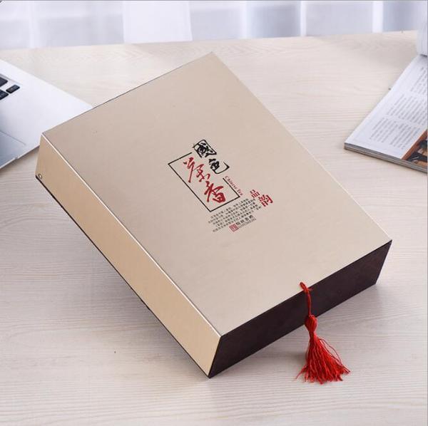 高档茶叶包装礼品盒定制 翻盖精美礼品包装纸盒 创意礼品盒批发图片