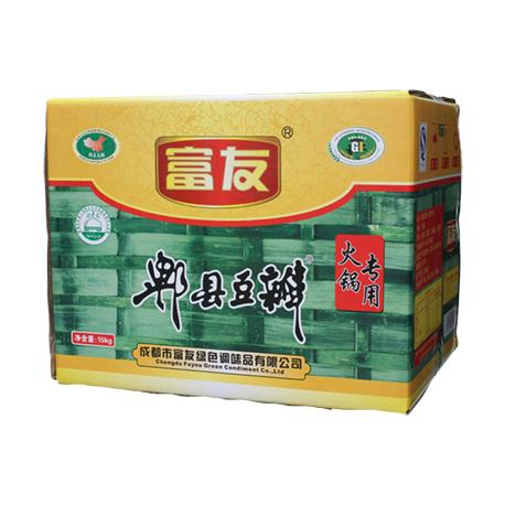 富友牌 火锅郫县豆瓣酱 10kg装 豆瓣四川特产 川菜调料