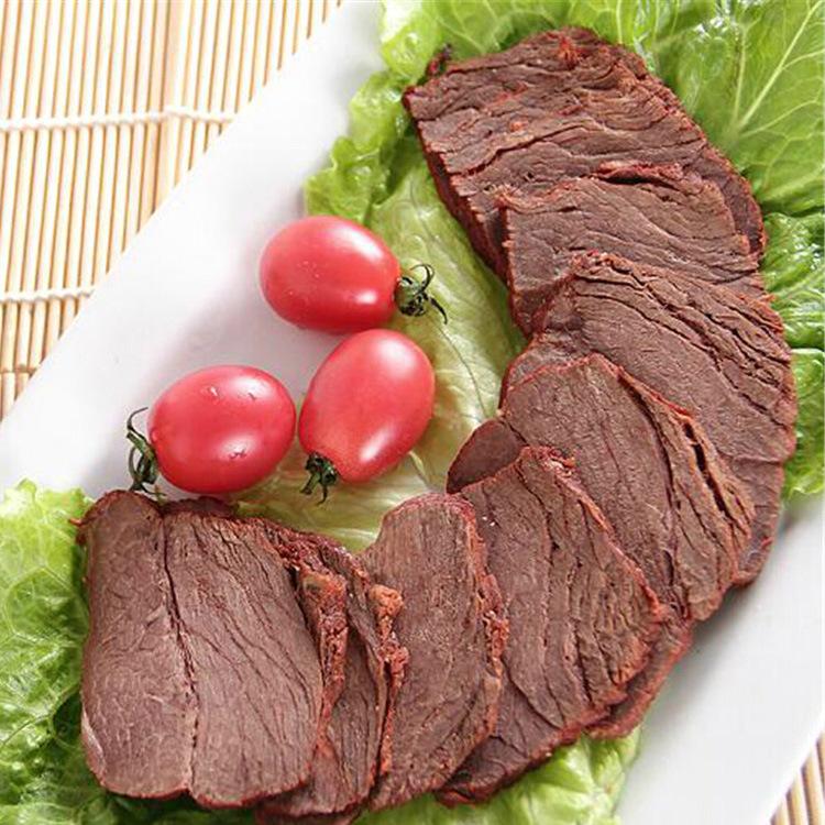 精选优质牛种四川特色卤牛肉 牛肉餐饮酒店供应 冷冻牛肉散装批发