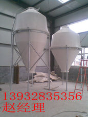 玻璃钢饲料塔|5吨玻璃钢饲料塔