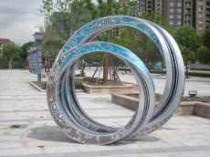 玻璃钢彩色室外景观雕塑节日道具