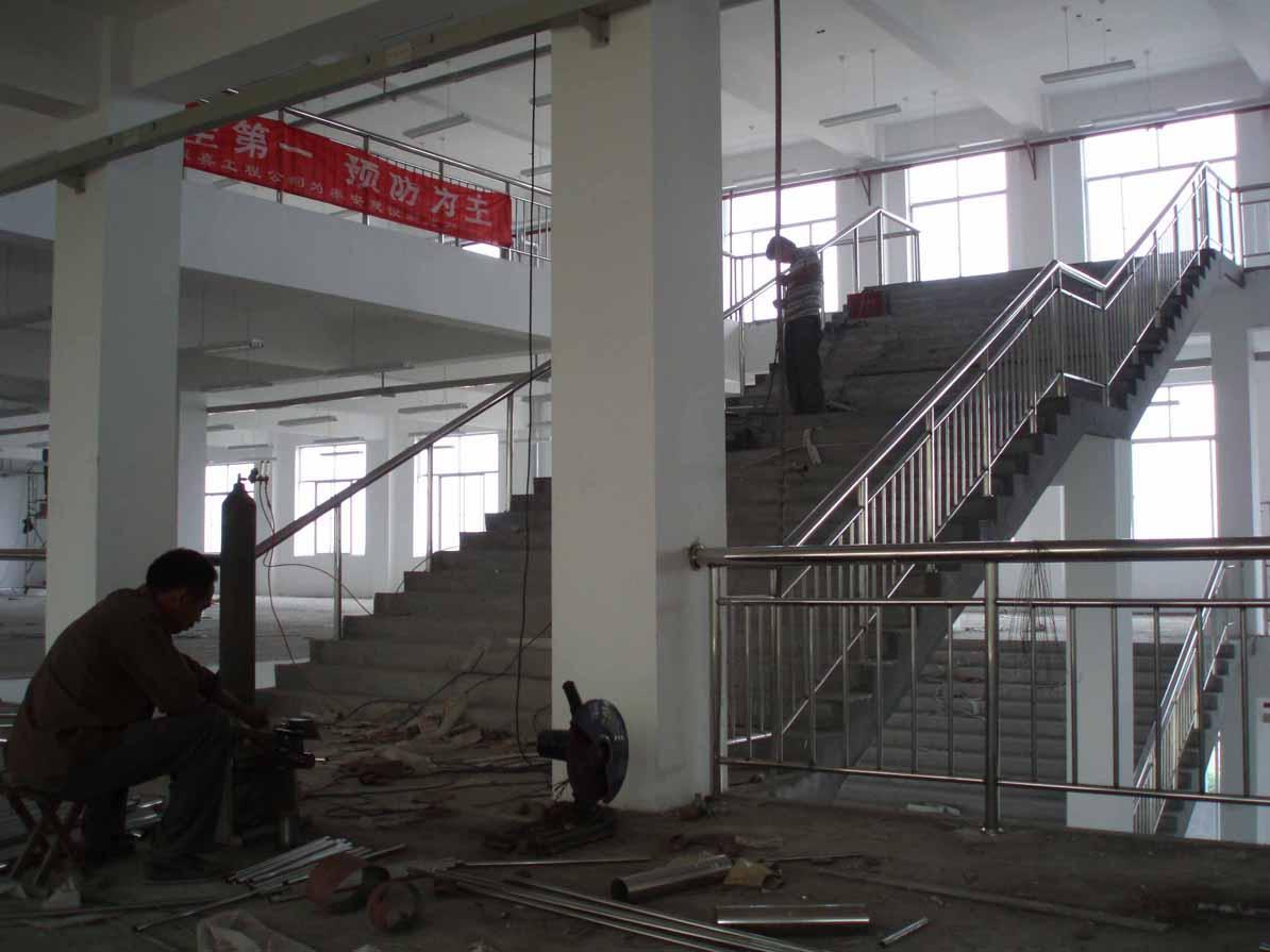 不锈钢楼梯扶手|不锈钢栏杆扶手|楼梯扶手厂家