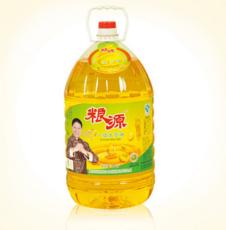 粮源一级大豆油散装/罐装压榨食用豆油 一级豆油 10L