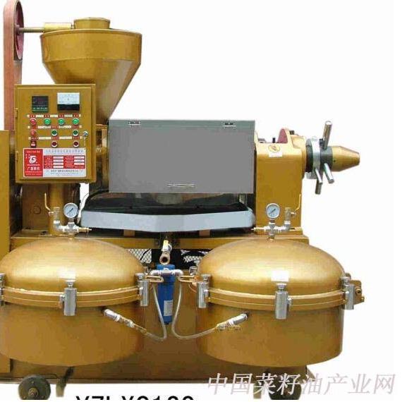 单桶液压榨油机50mpa 花生榨油机 小型榨油机价格 液压.图片