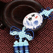 供应 陶瓷汽车挂件饰品 青花瓷吉祥平安饰品内饰车挂批发