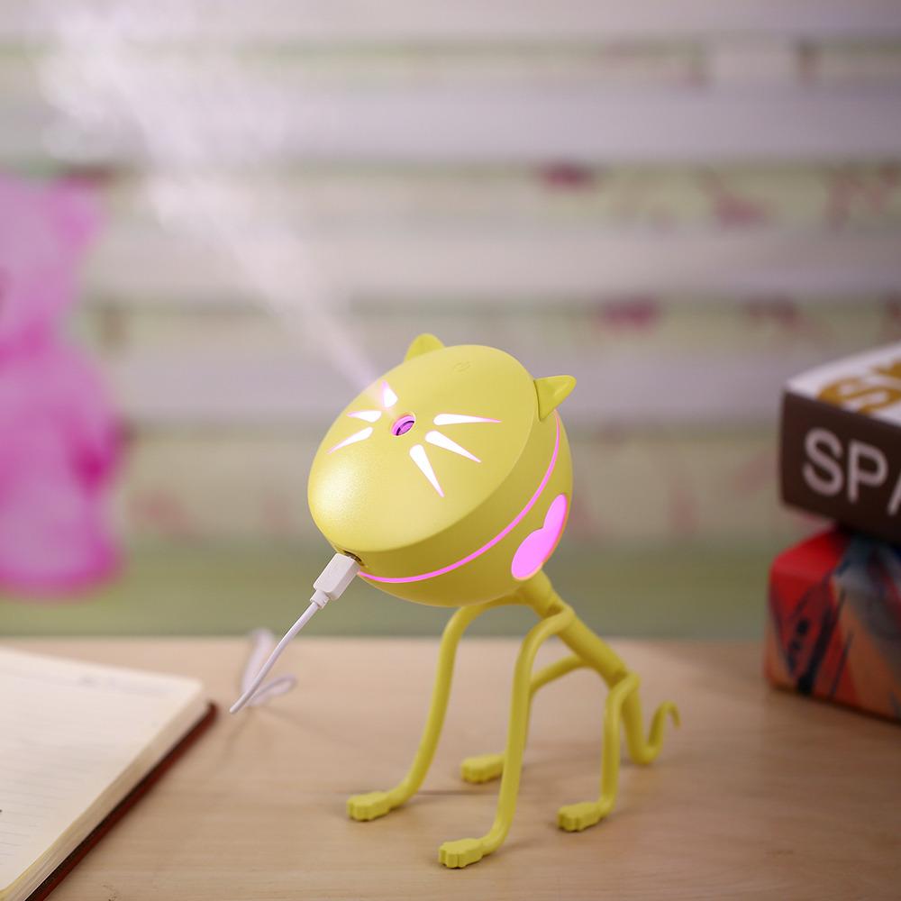 新款厂家直销爆款可爱猫咪加湿器 创意迷你USB萌宠加湿器