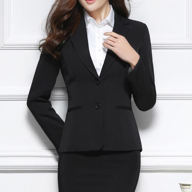 总长无锡工作服定制女士商务套西工作服套西定制工作服