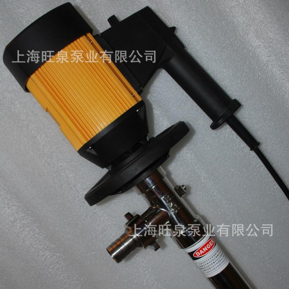 上海旺泉HD系列耐腐蚀插桶泵桶装手提式泵浦手提桶泵
