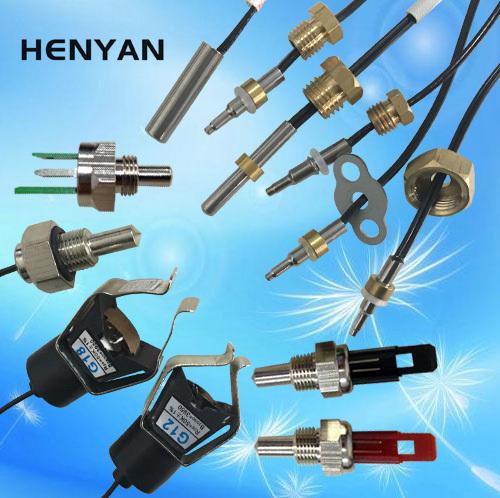 供应管夹式感温探头 温控探头外置温度传感器 热敏电阻
