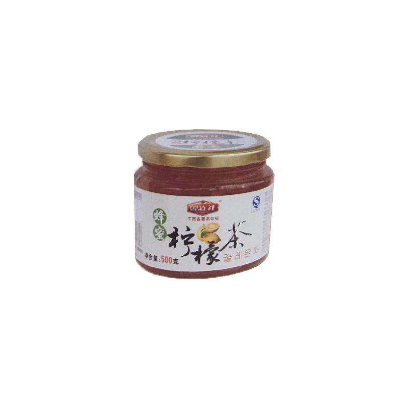 蜂连社  蜂蜜茶系列 柠檬茶500g玻璃瓶装