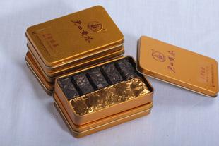 直销批发湖南君山黄茶纯天然金色装茶砖美容养颜黄茶