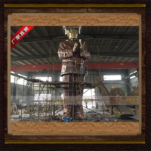 供应  高9米锻造毛主席铜雕     厂家直销