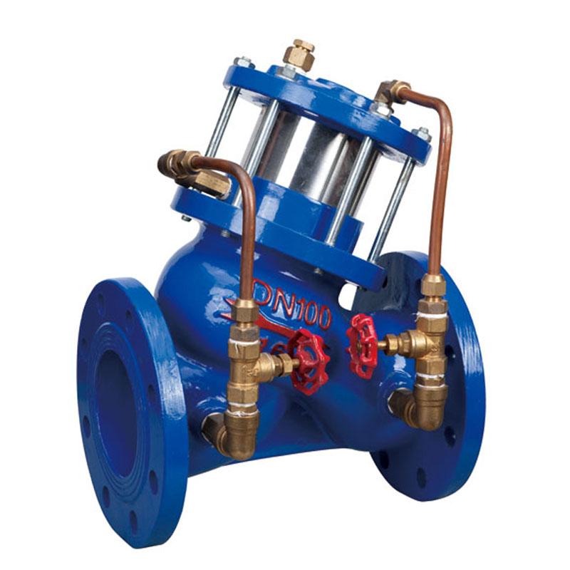 多功能水泵控制阀,jd745x多功能水泵控制阀,上海品牌 -上海雄工阀门图片