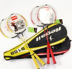 雷加尔 9158 情侣拍球拍 训练球拍 一体拍 2支装 业余级拍