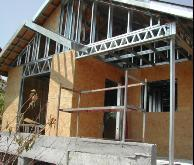 青岛钢结构活动板房新型别墅