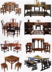 供应 2015红木家具 仿古缅甸花梨全实木半圆台圆桌子