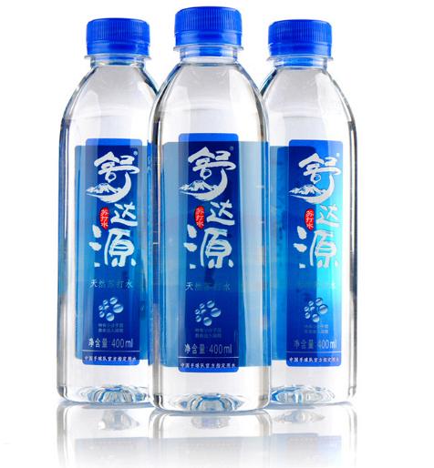 舒达源 天然苏打水 弱碱性 无气矿泉水 饮料400ml 优质品牌优质售