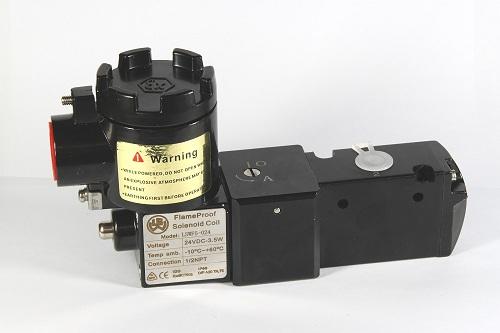 两位三通CT6防爆电磁阀,粉尘隔爆电磁阀