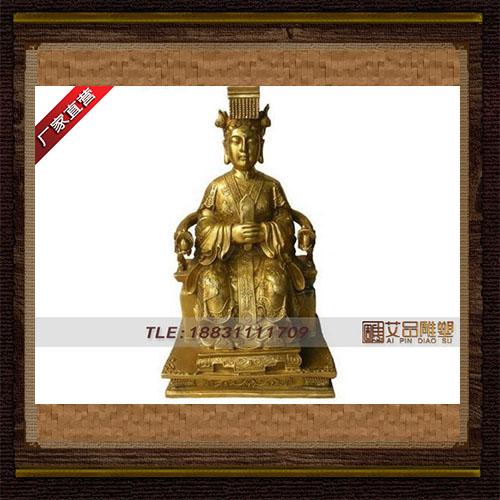 供应  王母娘娘铜雕神像  品牌雕塑  厂家直销