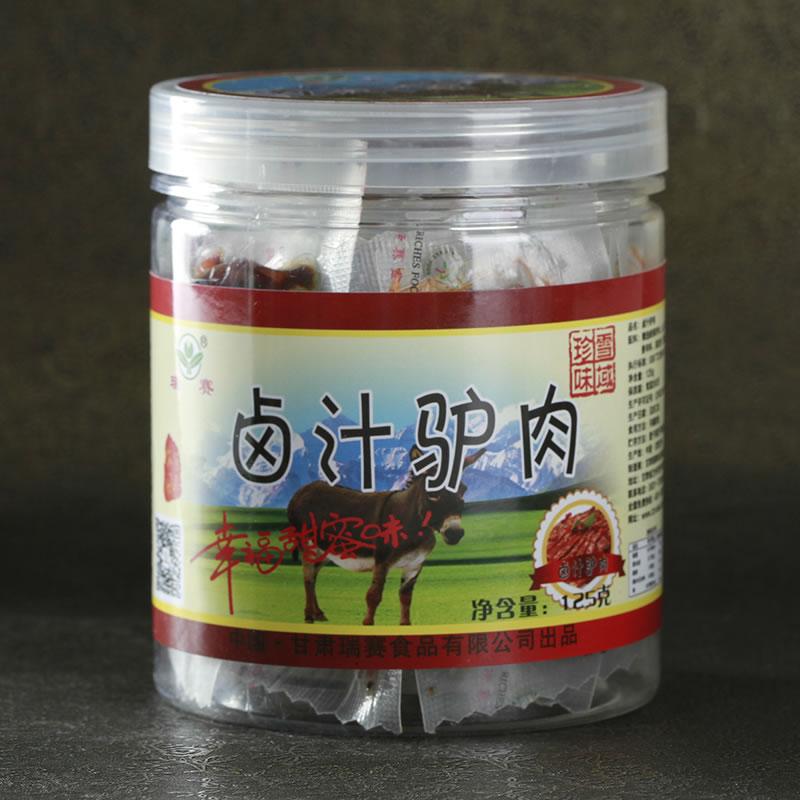 125g卤汁驴肉